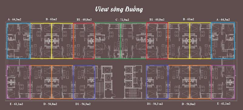 thiết kế căn hộ theo kiến trúc mới nhất hiện nay
